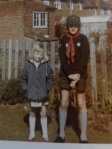 Me with my eldest brother circa 1973.