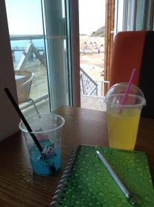 Beach café.